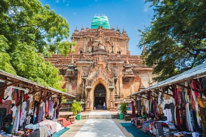 Antyczne świątynie i pagoda w strefie, punkcie zwrotnym i popularnym dla Archeologicznych, atrakcji turystycznych i miejsce przez obrazy stock