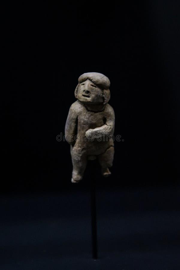 Antyczne Gliniane figurki od Peru zdjęcie royalty free