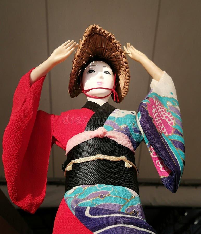 Antyczne japońskie lale obraz royalty free