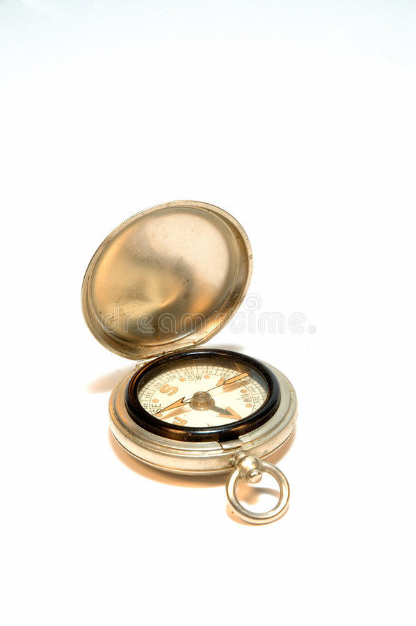 antyczne kompas. obraz royalty free