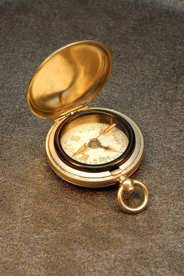 antyczne kompas. zdjęcie stock
