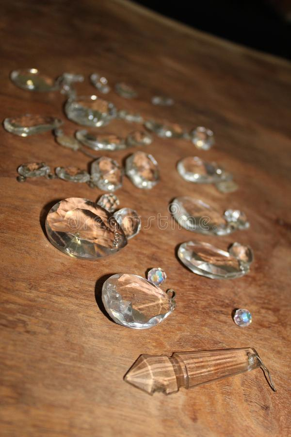 Antyczne krople kryształ zdjęcia royalty free
