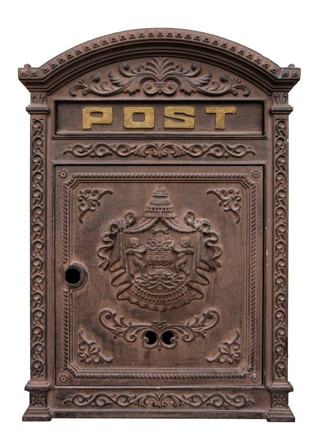 antyczne postbox zdjęcia stock