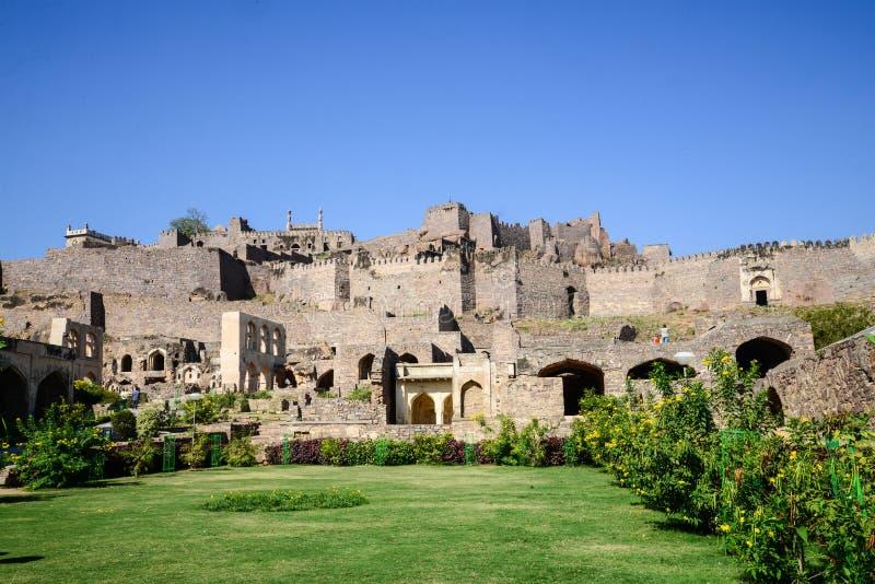 Golconda fort zdjęcie royalty free
