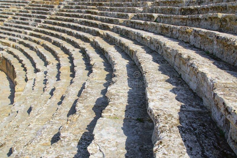 Antyczne ruiny Hierapolis obrazy stock