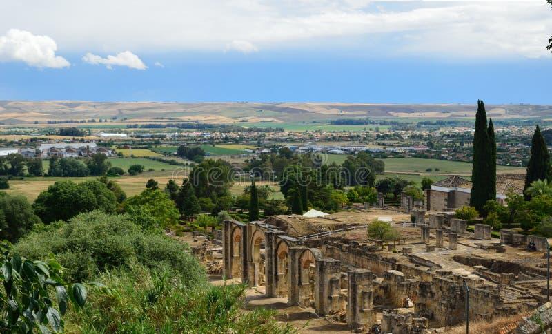 Antyczne ruiny Medina Azahara fotografia royalty free
