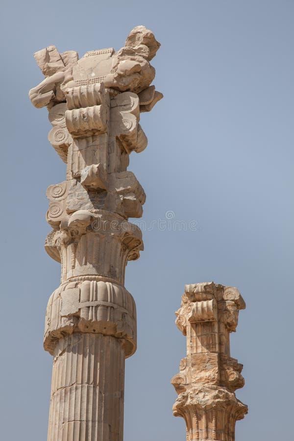 Antyczne ruiny, persepolis, Iran zdjęcia stock