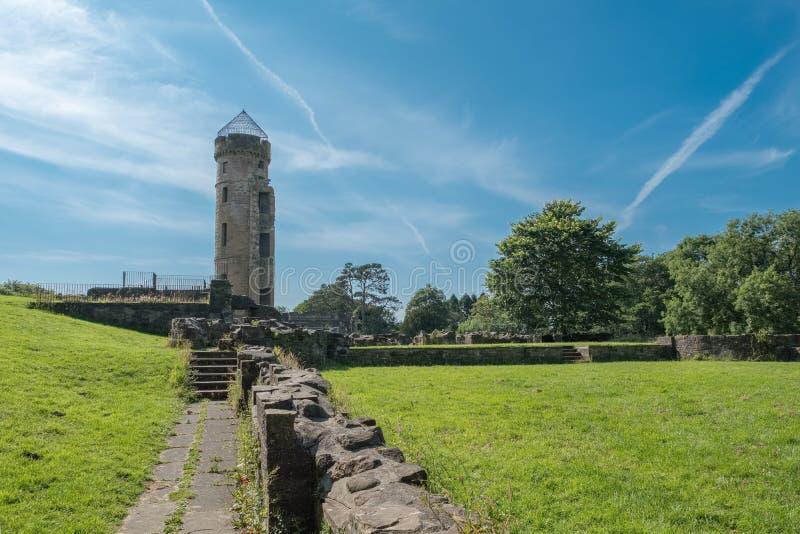 Antyczne Szkockie ruiny i budynek podstawy zdjęcia royalty free