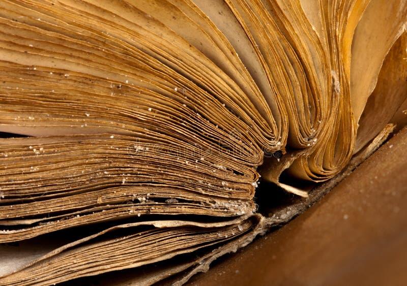 antycznej książki otwarte strony obrazy stock