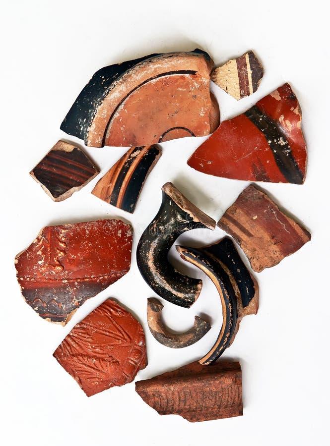 Antyczni ceramiczni artefakty fotografia royalty free