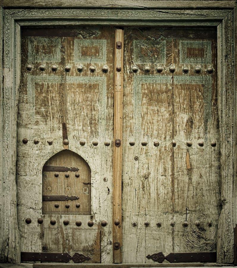 Antyczni drzwi Close-up wizerunek zdjęcie royalty free