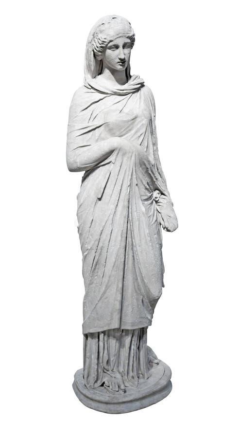 antyczni marmurowej statuy kobiety potomstwa obrazy royalty free