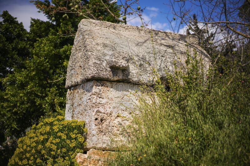 Antyczni rockowi grobowowie Kasa, Turcja obrazy royalty free