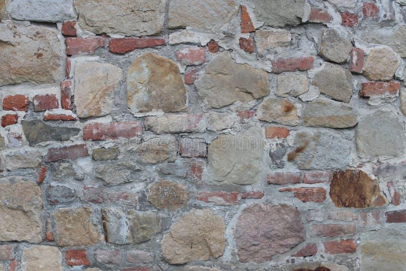 Antyczny średniowieczny kamienny kamieniarstwo Tekstura czerep ściana stara struktura Tło dla projekta i kreatywnie pracy de obrazy royalty free