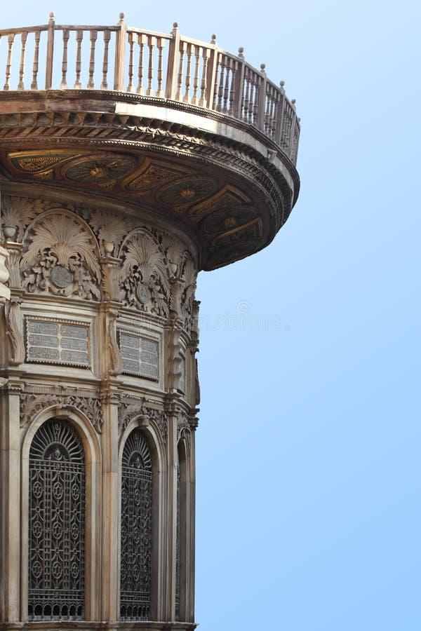 Antyczny balkon obraz stock