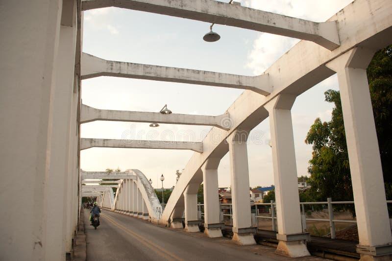 antyczny bridżowy Thailand obraz stock