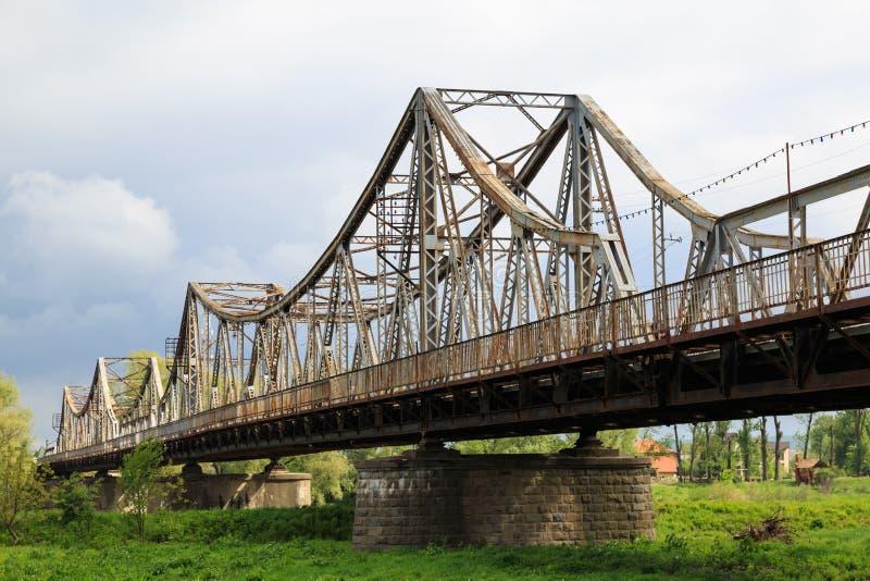 Antyczny bridger Miasto Galich Ukraina fotografia stock