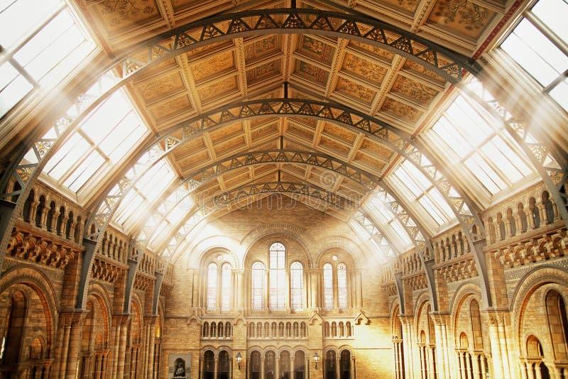 Antyczny budynek piękny wnętrze zdjęcia royalty free