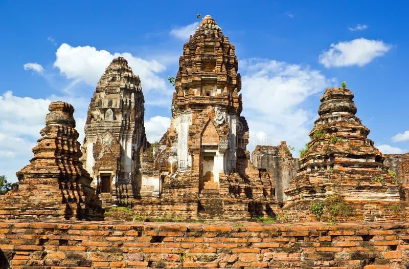 Antyczny buildingWat Phra Si Rattana Mahathat obraz stock