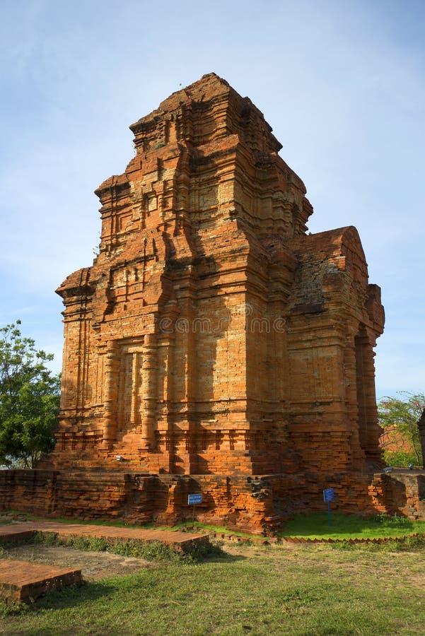 Antyczny Cham wierza Phan Thiet fotografia royalty free