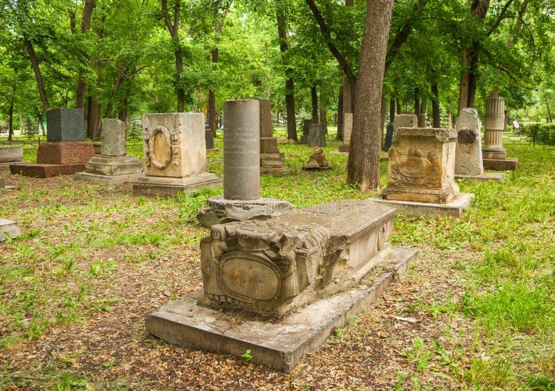 Antyczny cmentarz zdjęcie stock