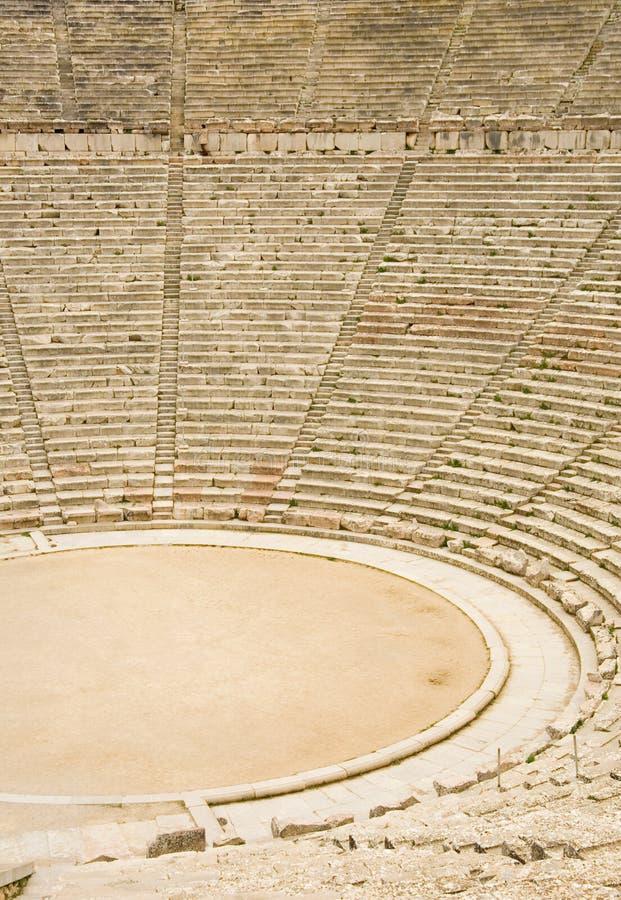 antyczny epidaurus Greece teatr zdjęcia stock
