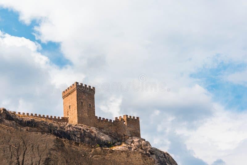Antyczny forteca zdjęcie royalty free