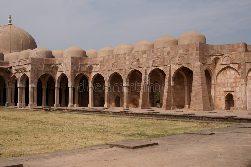 antyczny indyjski meczet zdjęcia stock