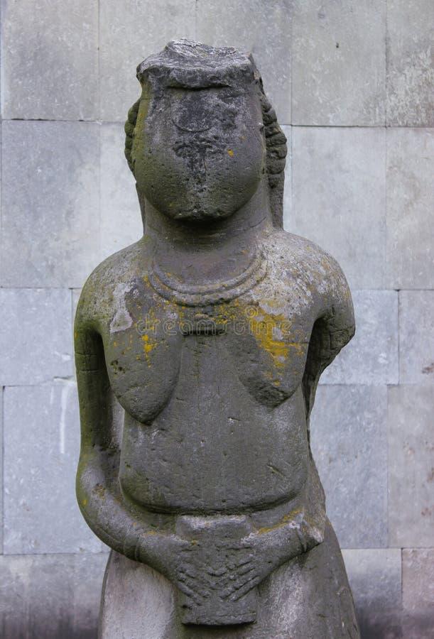 Antyczny kamienny statuy kobiety symbol zdjęcia royalty free