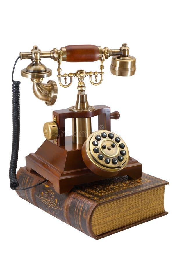 antyczny książkowy telefon zdjęcia royalty free