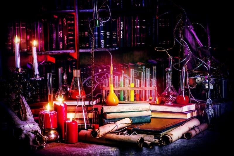 Antyczny laboratorium obrazy stock