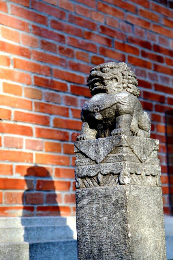 Antyczny Longchung, Historyczni tereny Trzy królestw okres fotografia royalty free