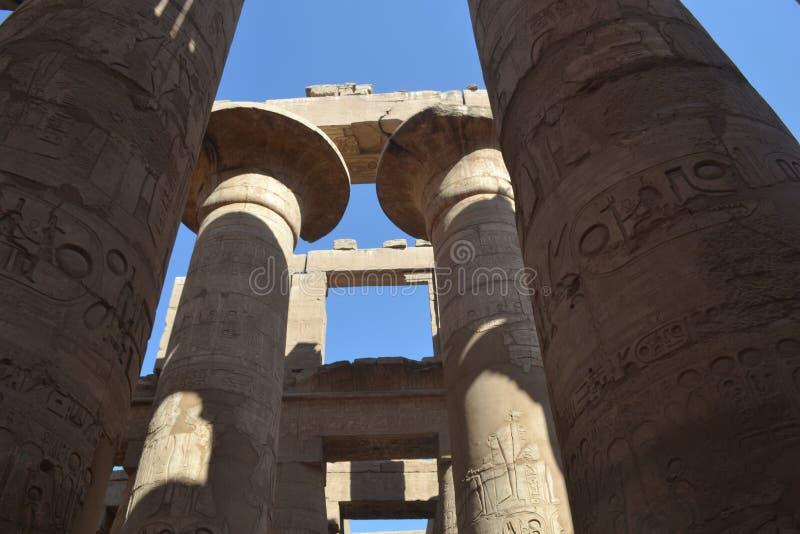 Antyczny Luxor w Egipt zdjęcie stock