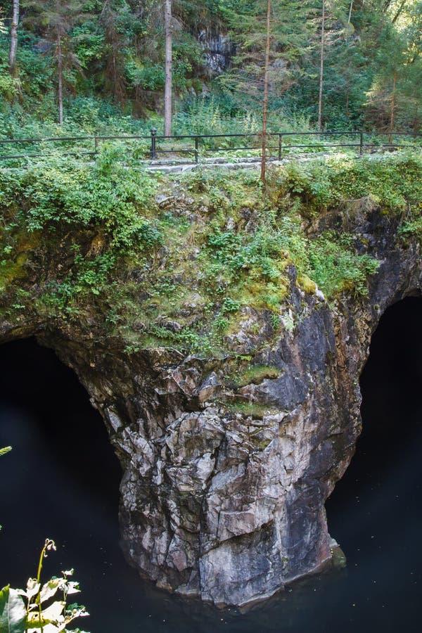Antyczny Marmurowy łup, marmur skały fotografia royalty free