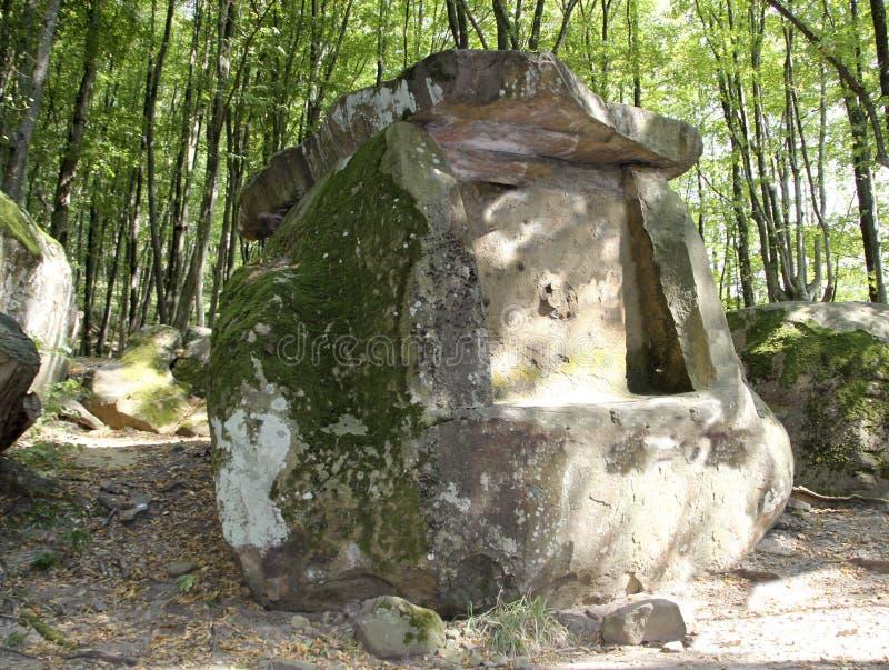 Antyczny megalityczny dolmen, Tuapse, Rosja obrazy stock