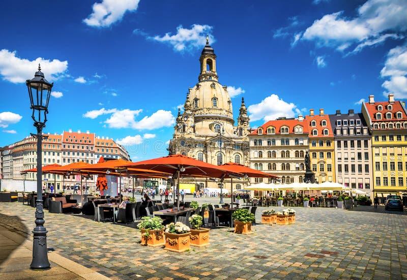 Antyczny miasto Drezdeński, Niemcy obraz royalty free