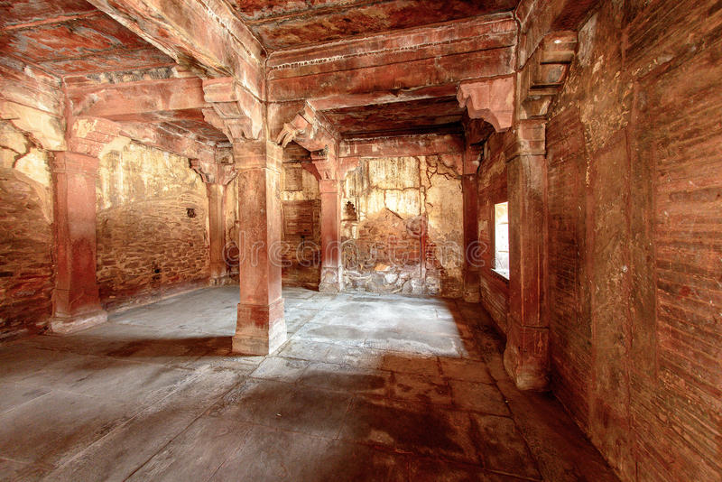 Antyczny miasto Fatehpur Sikri, India obraz royalty free