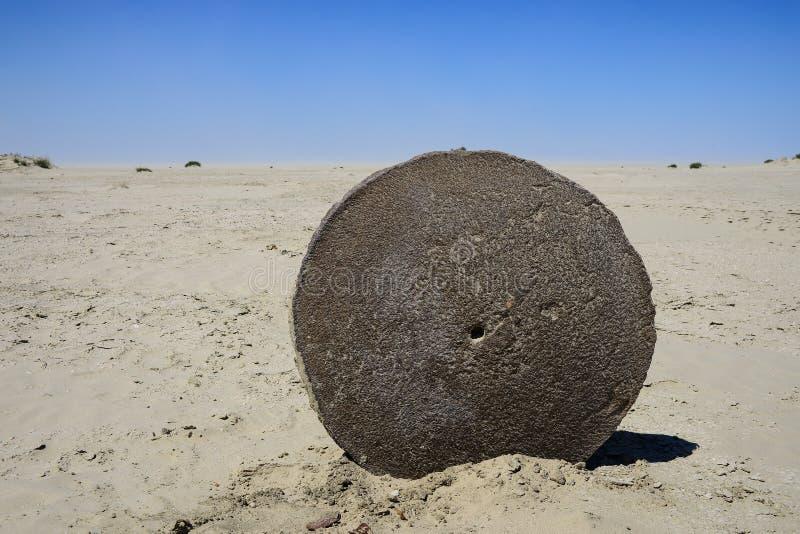 antyczny millstone zdjęcie stock