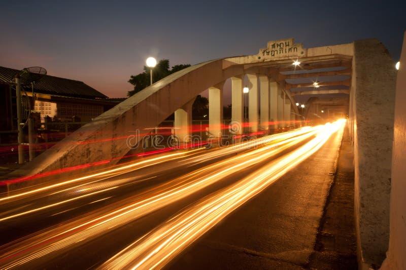 antyczny mosta światła ruch drogowy zdjęcia stock