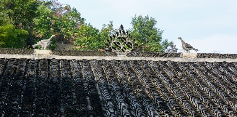 Antyczny pałac w Nanning, Chiny zdjęcia royalty free