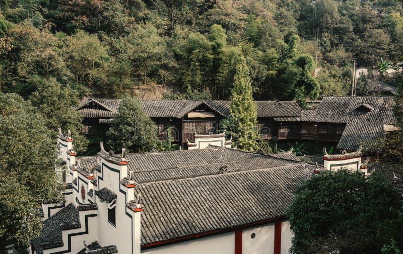 Antyczny pałac w Nanning, Chiny obraz royalty free