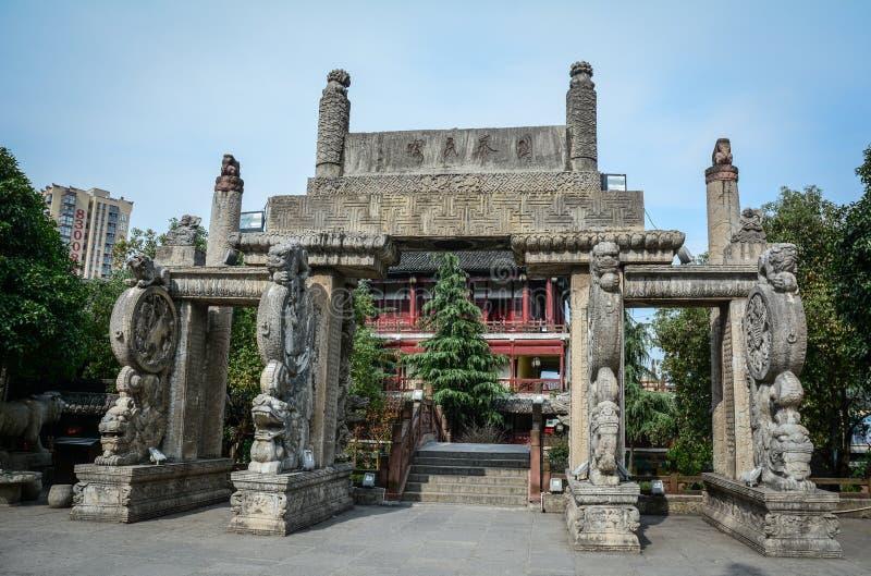 Antyczny pałac w Nanning, Chiny fotografia stock