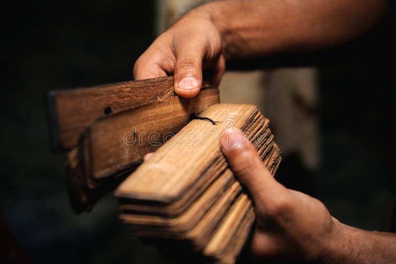 antyczny sanskrit zdjęcia stock