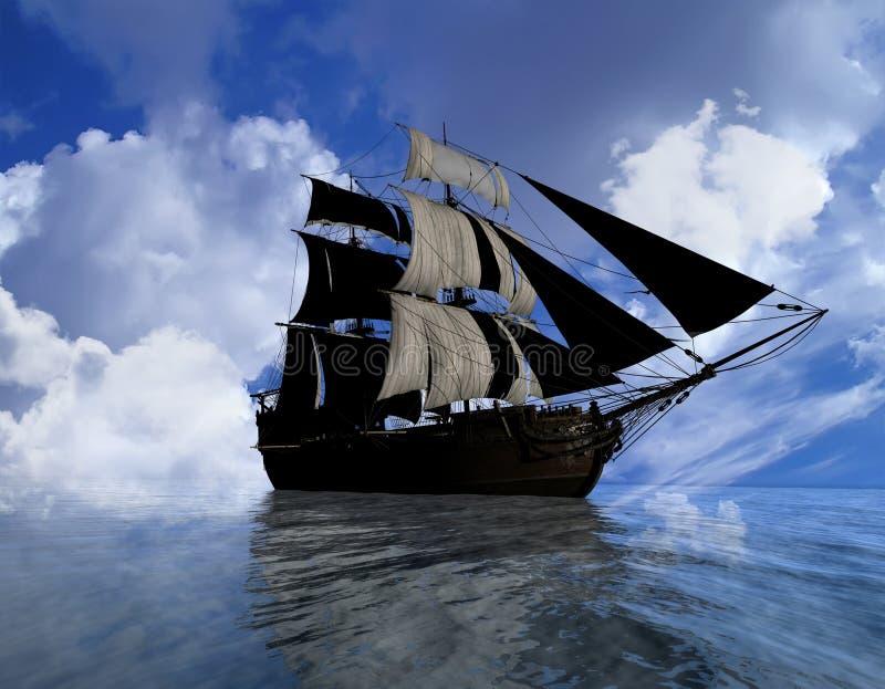 antyczny statek obrazy stock