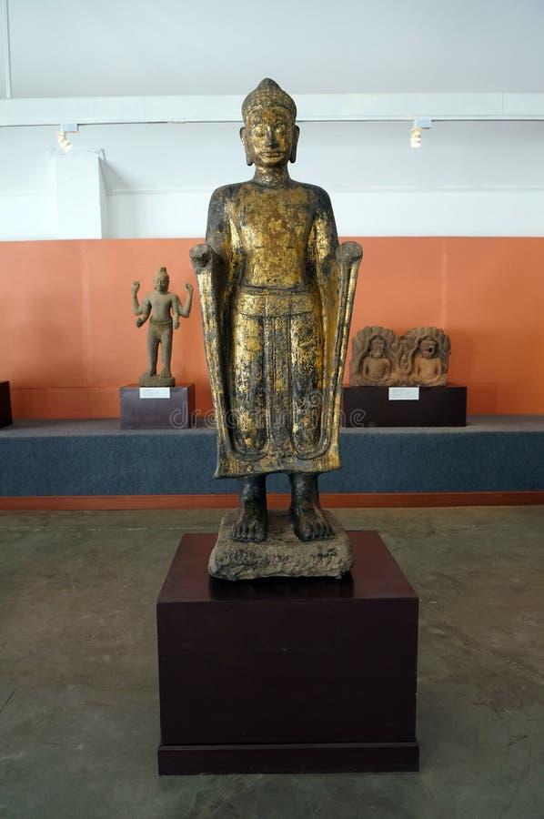 Antyczny Trwanie Buddha zdjęcia stock