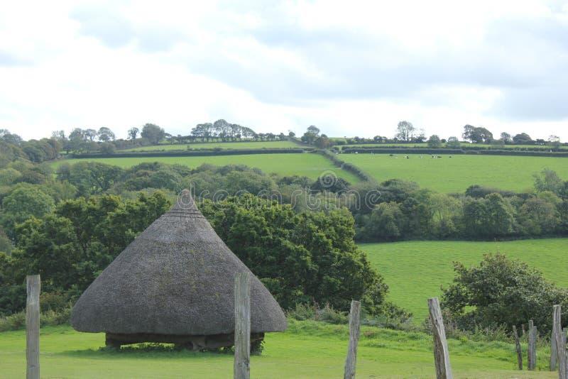 Antyczny Walijski fort fotografia stock
