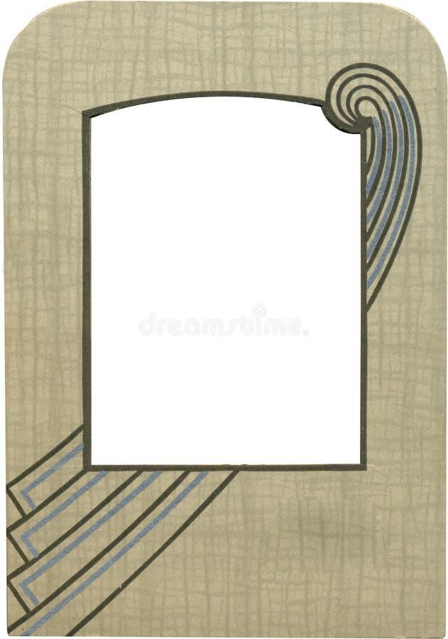 antyk 1900 ramowy w połowie. obrazy royalty free