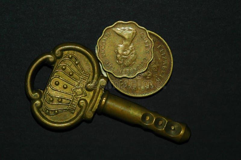 antyk monet klucz obrazy royalty free