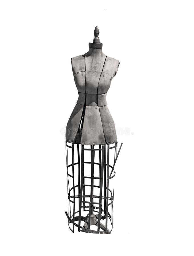 Antyk sukni forma dla szwaczki obraz royalty free