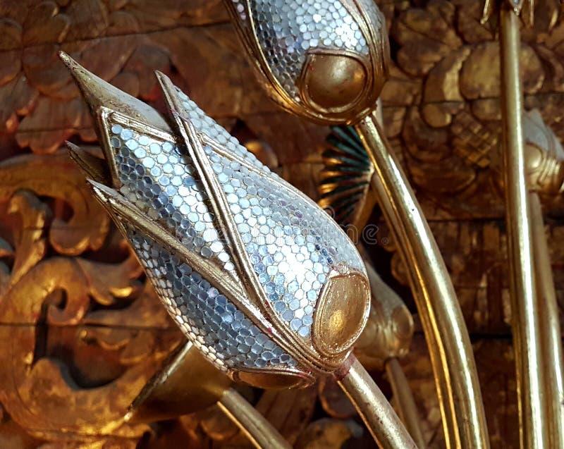 Antyka model złoty kwiat zdjęcia royalty free